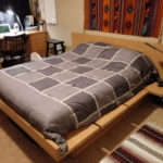 RIFT SAWN OAK PLATFORM BED